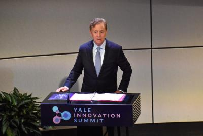 Governor Ned Lamont at YIS 2019